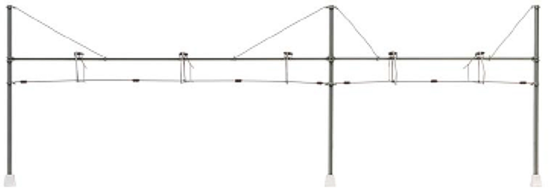 Cross span for sliding platform (Märklin), kit