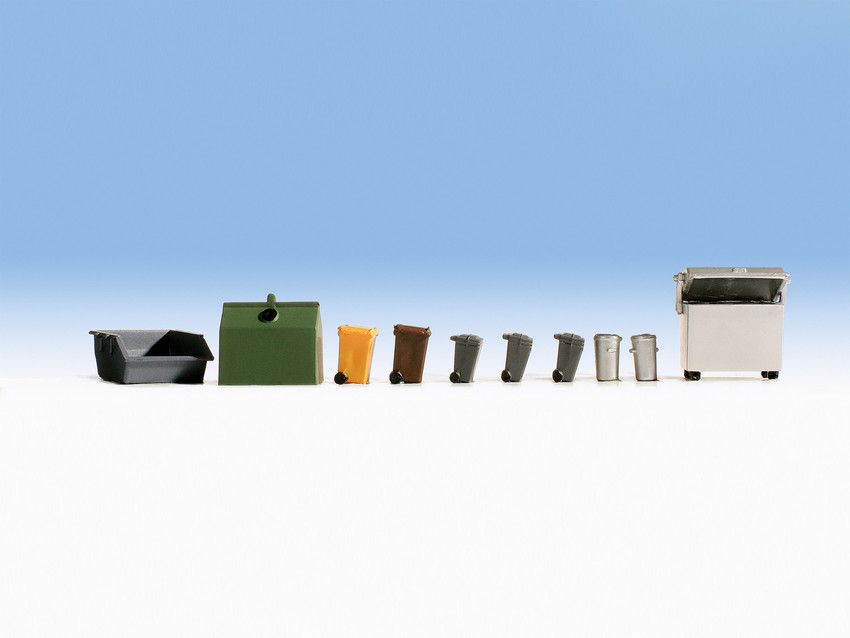 Noch 14825 Waste Containers Accessory Set