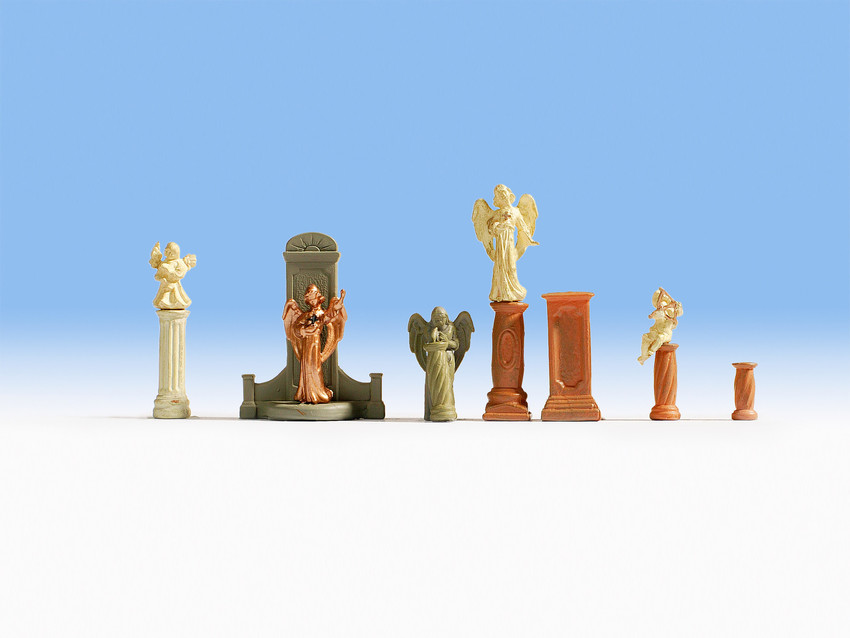 Noch 14872 Tomb Monuments And Statues Accessory Set