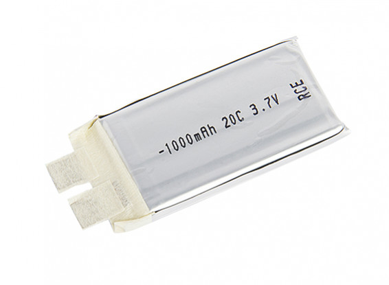 Turnigy 1000mAh 1S 20C Lipoly (Single Cell)