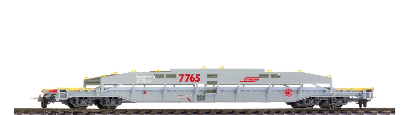 Bemo 2290 105 RhB Sl 7765 ACTS carrier unloaded
