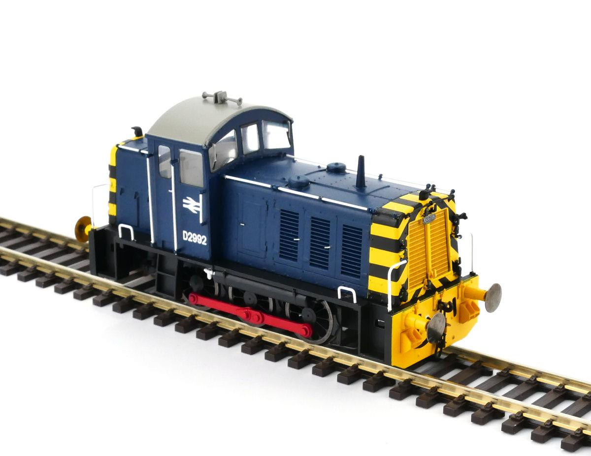 Heljan 2902 - Class 07 - D2992 In BR Blue With Wasp Stripes