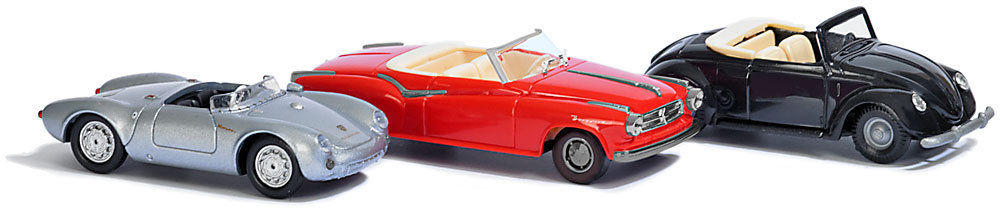 3 Convertible Cars of the Fifties