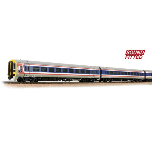 31-250SF CLASS 159 3-CAR DMU 159013 BR NETWORK SOUTHEAST (REVISED) - DCC SOUND