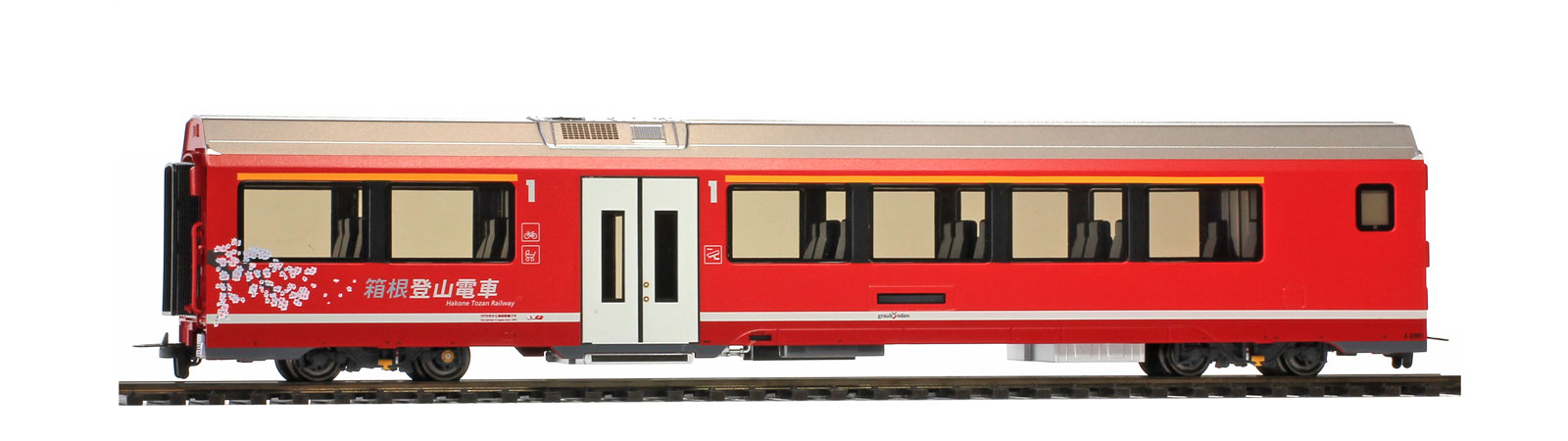 Bemo 3298 102 RhB A 570 01 AGZ end car 'Hakone Tozan Railway'