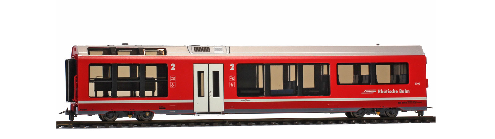 Bemo 3298 162 RhB Bi 576 01 AGZ end car