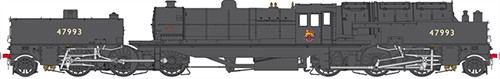 Heljan 266220 - BEYER GARRATT 47993 BR HEAVY WEATHERED