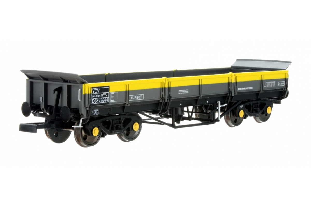 DAPOL 4F-043-011 - OO Guage Turbot Bogie Ballast Wagon BR Engineers Dutch 978644