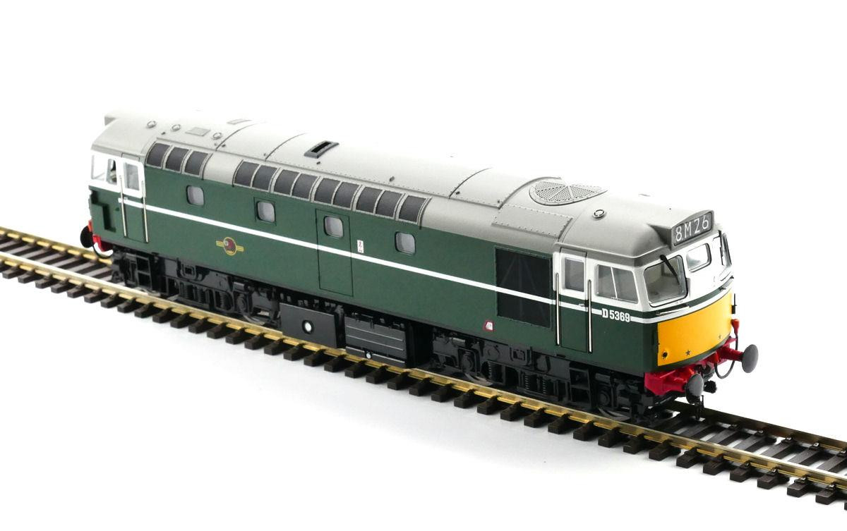 Heljan 2731- Class 27 - D5369 BR Green With Small Yellow Panels