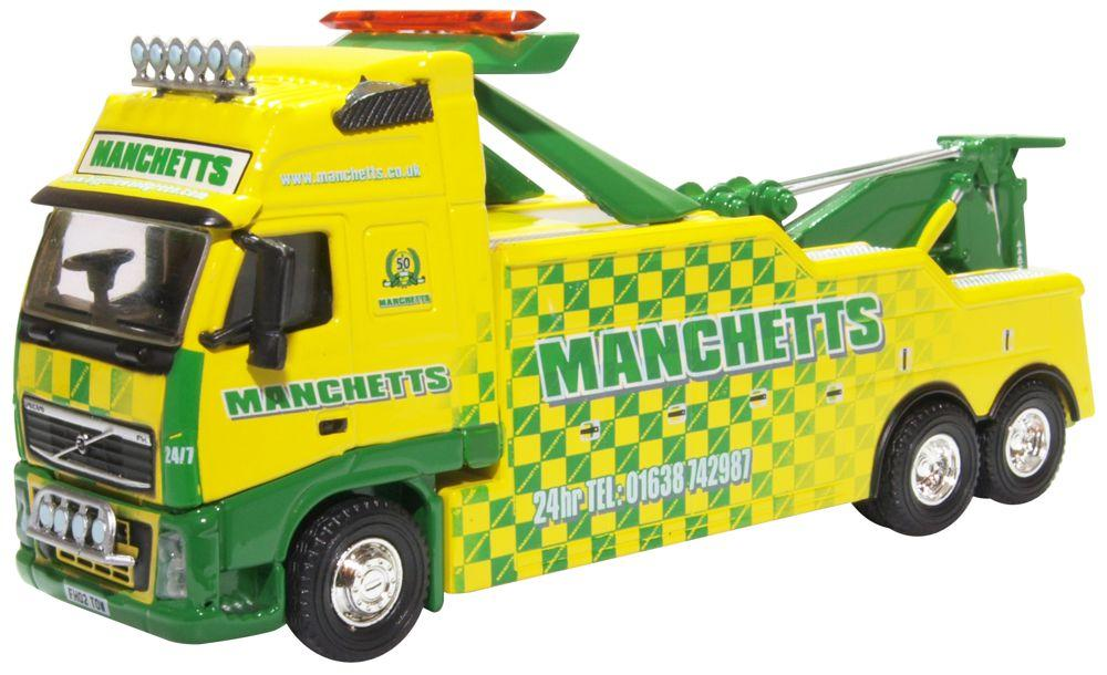 Oxford DieCast Volvo FH Boniface Recovery Truck Manchetts