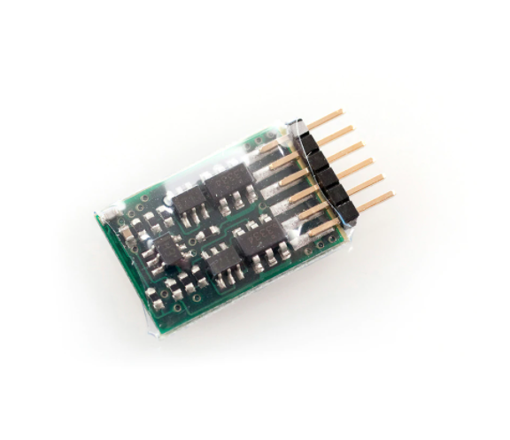 SOUNDTRAXX - 851001/MC1Z102P6 Direct 6pin 2 Function DCC decoder