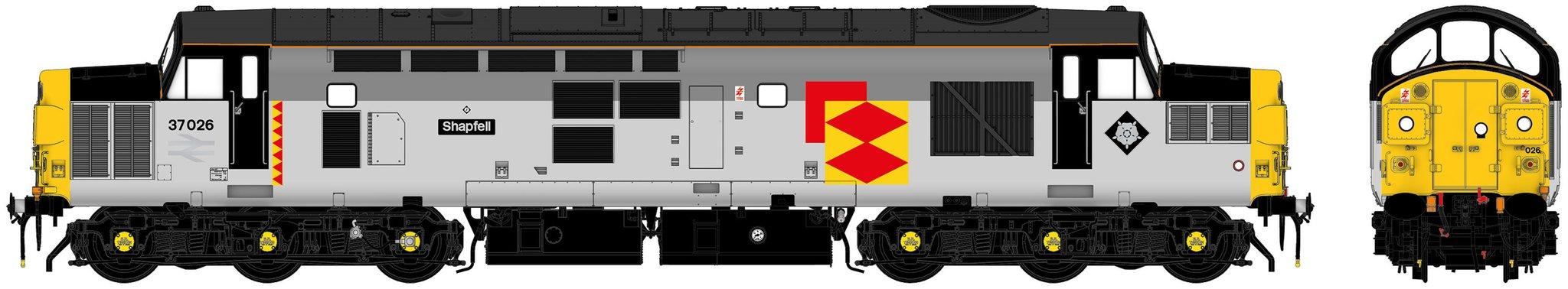 Accurascale Class 37 - 37026 Railfreight Distribution With Sound
