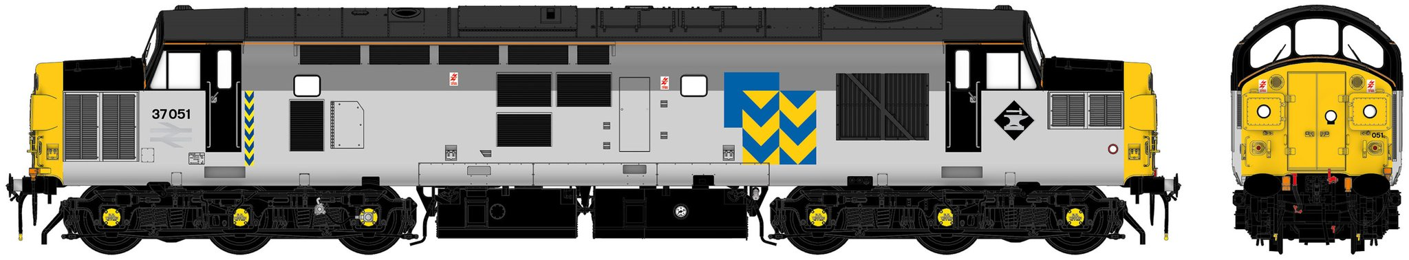 Accurascale Class 37 - 37051 Railfreight Metals