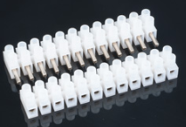 DCC Train Automation 2 pairs of 12 Way Pluggable Terminal Connectors