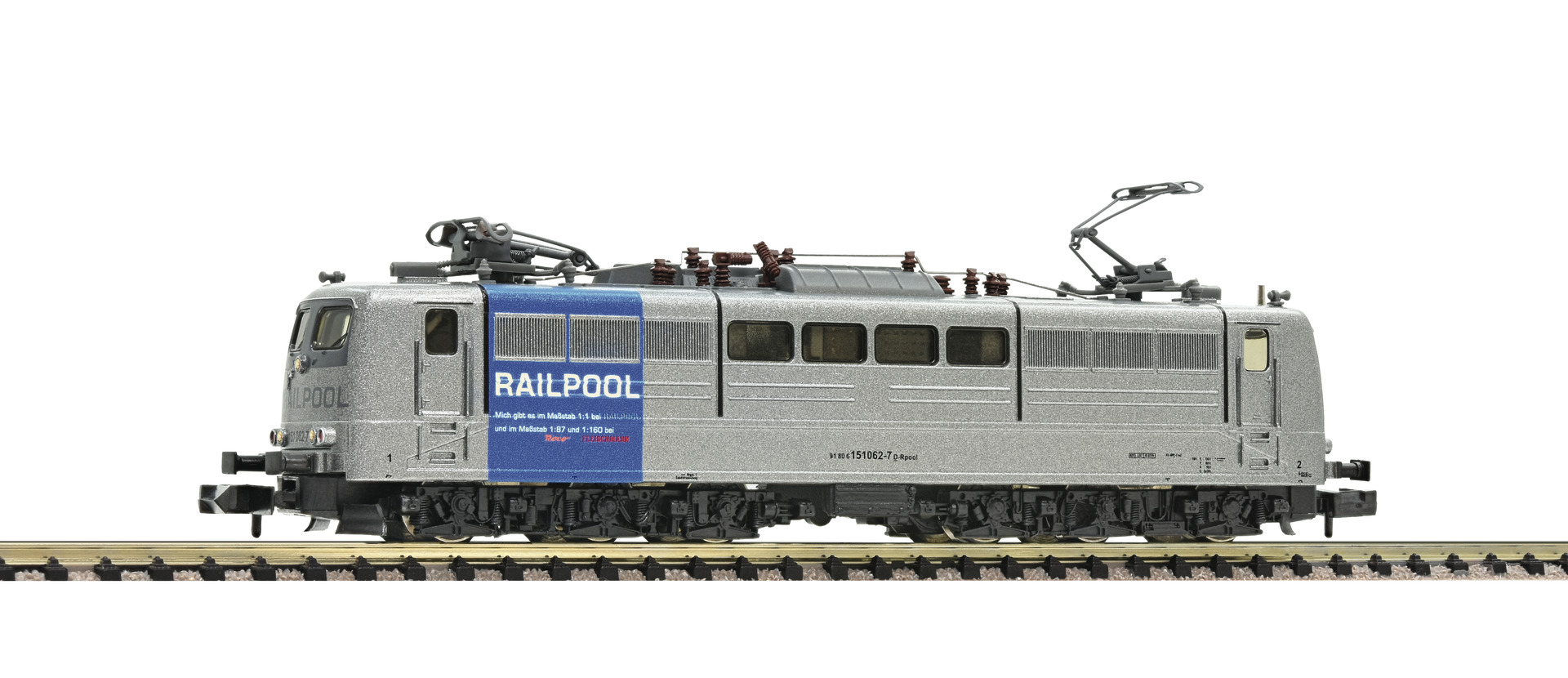 Fleischmann 738092 - Electric locomotive 151 062-7, Railpool