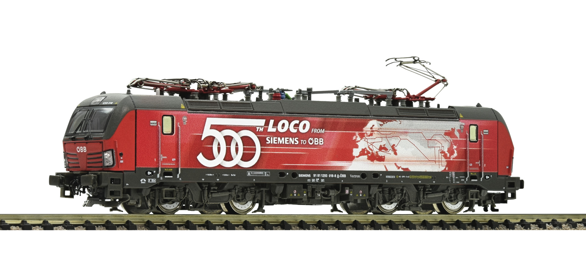Fleischmann 739394 - Electric locomotive 1293 018-8, ÖBB