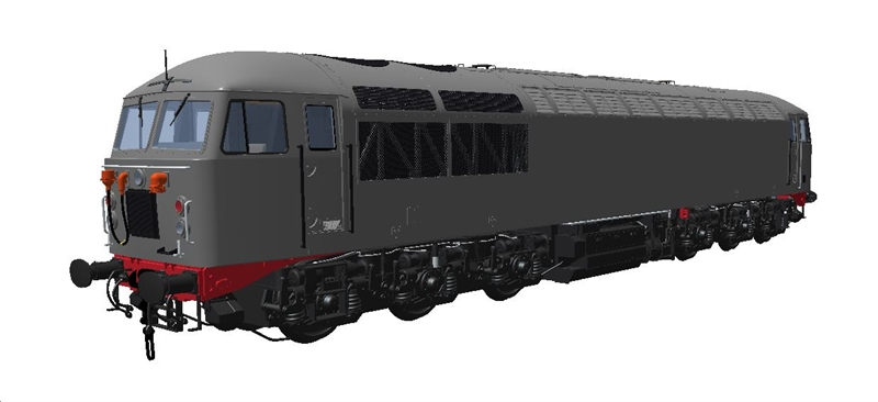 Heljan 5604 Class 56 Railfreight 'Sector' Triple Grey Unbranded