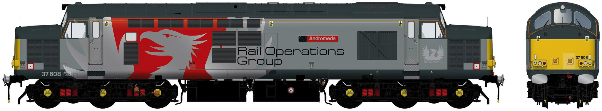 Accurascale Class 37/6 - 37608 DCC Ready
