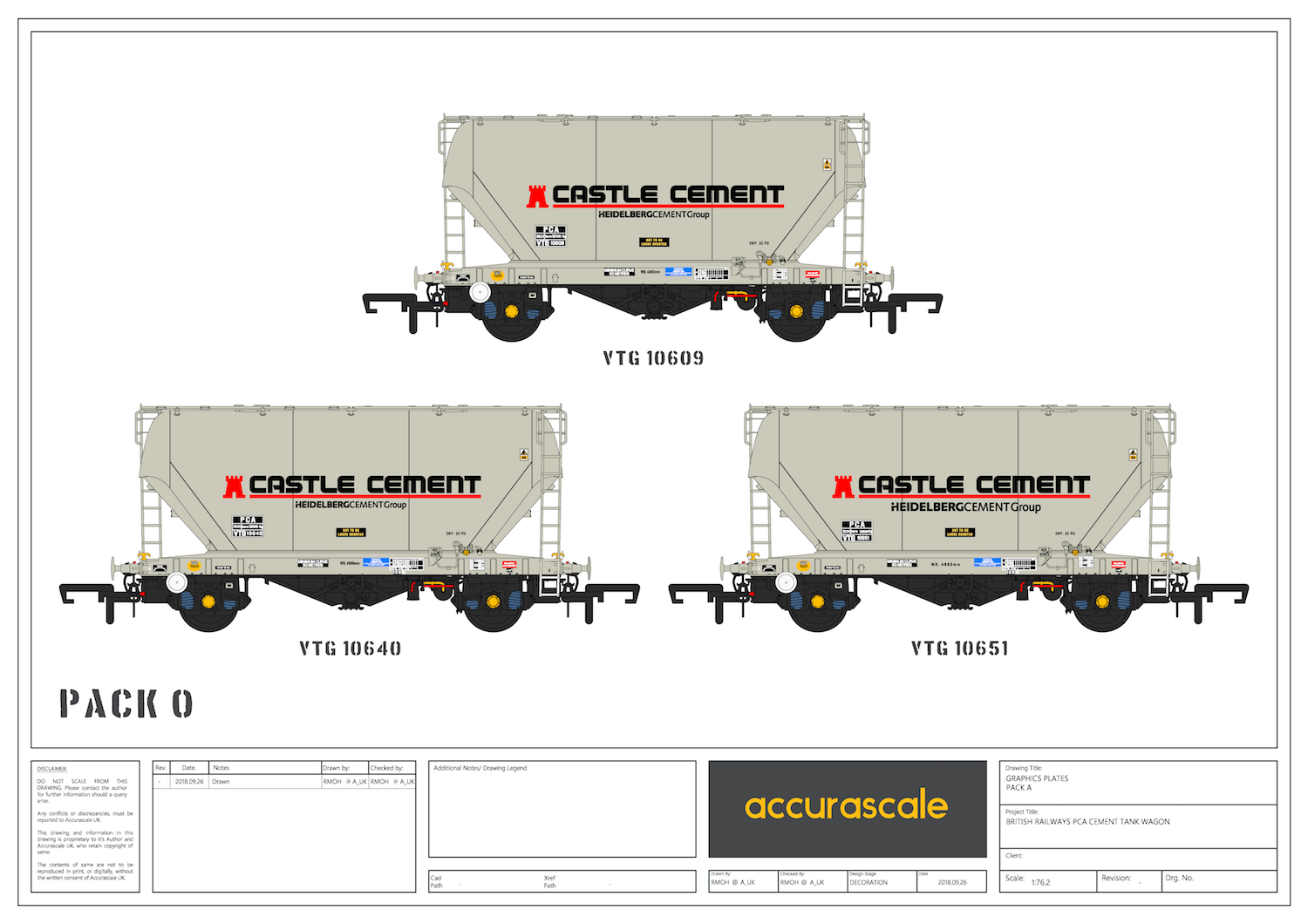Accurascale PCA Bulk Cement - Castle Cement Pack O