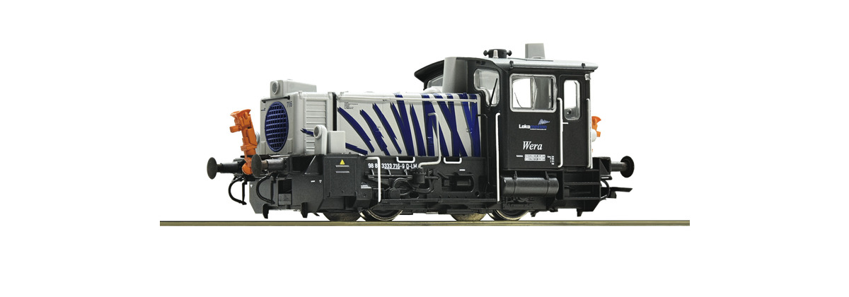 Roco 72018 Lokomotion BR333 716 Diesel Locomotive VI (DCC-Sound)