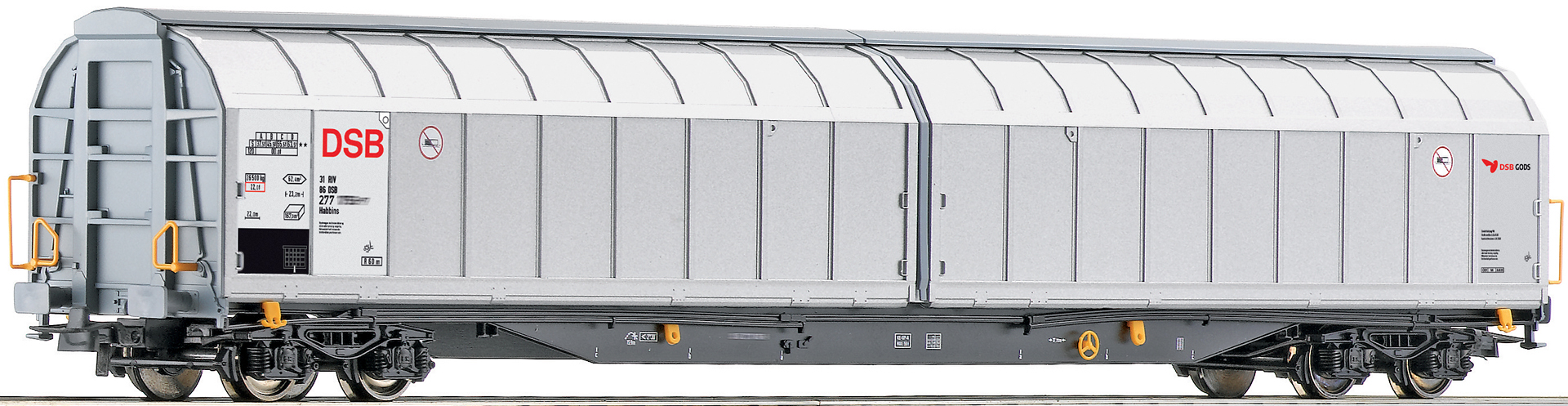 Roco 66433 - Sliding Wall Wagon, DSB
