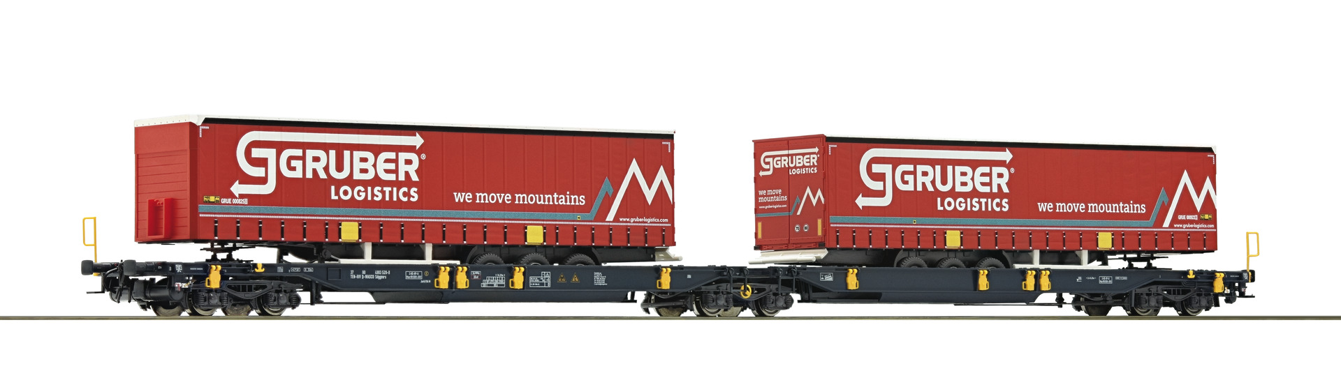 Roco 76428 - Articulated Pocket Wagon, WASCOSA
