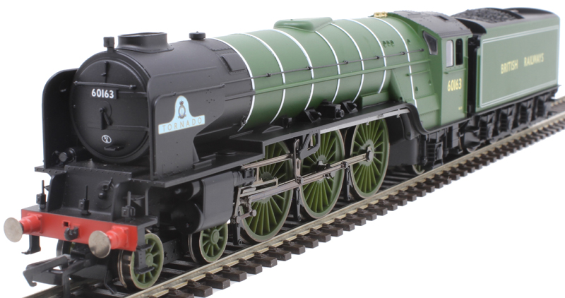 TORNADO 4-6-2 ESU sound decoder and speaker