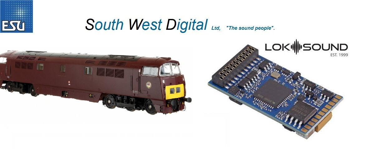 "South West Digital Class Diesel, ""Class 52"",Western  Sopund Decoder 21pin"