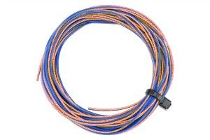 DCC Concepts TWIN Wire Decoder Stranded 6m (32g) Pink/Blue