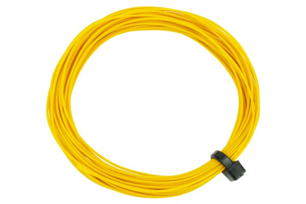 DCC Concepts Wire Decoder  Stranded 6m (32g)  Yellow