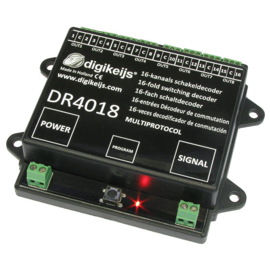 Digikeijs DR4018 16-channel switch decoder