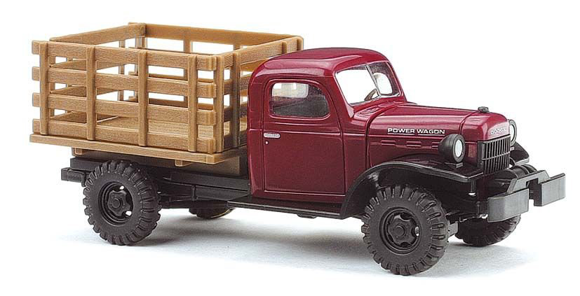 Dodge Power Wagon Holzbox