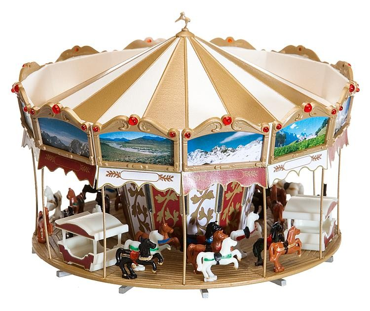 Faller 140316 Children's Merry Go Round IV - Plastic Kit