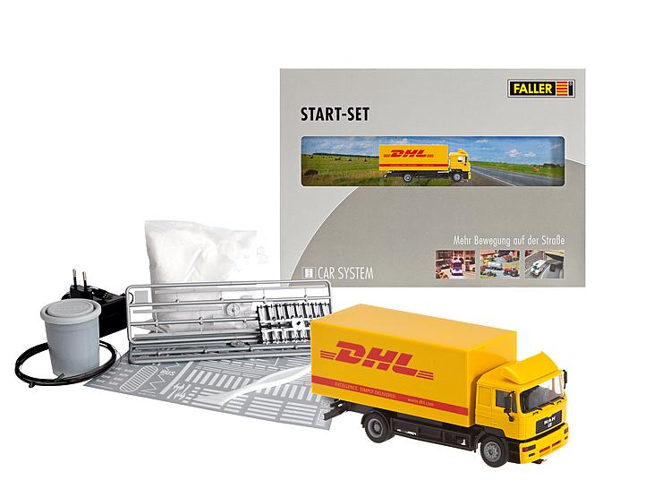 Faller 161607 Car System Start-Set DHL lorry