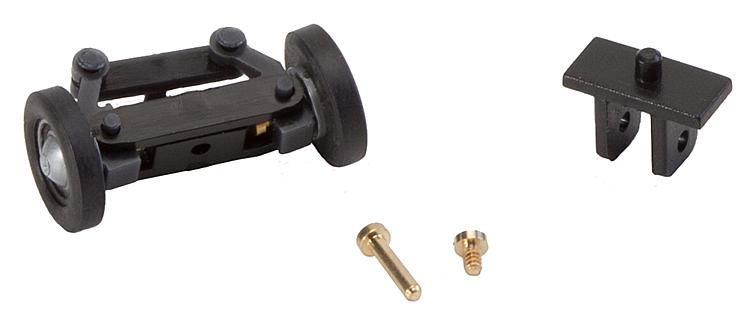 Faller 163006 Front axle, completely assembled for VW vans (with wheels).