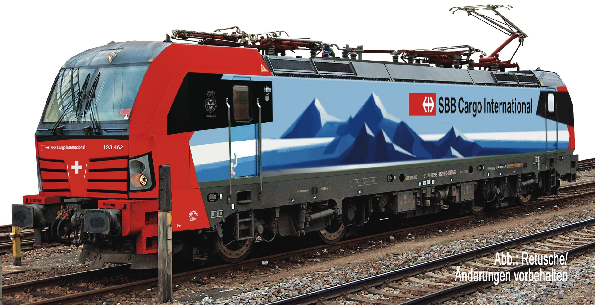 Fleischmann 739374 - Electric locomotive class 193, SBB Cargo International (DCC Sound Fitted)