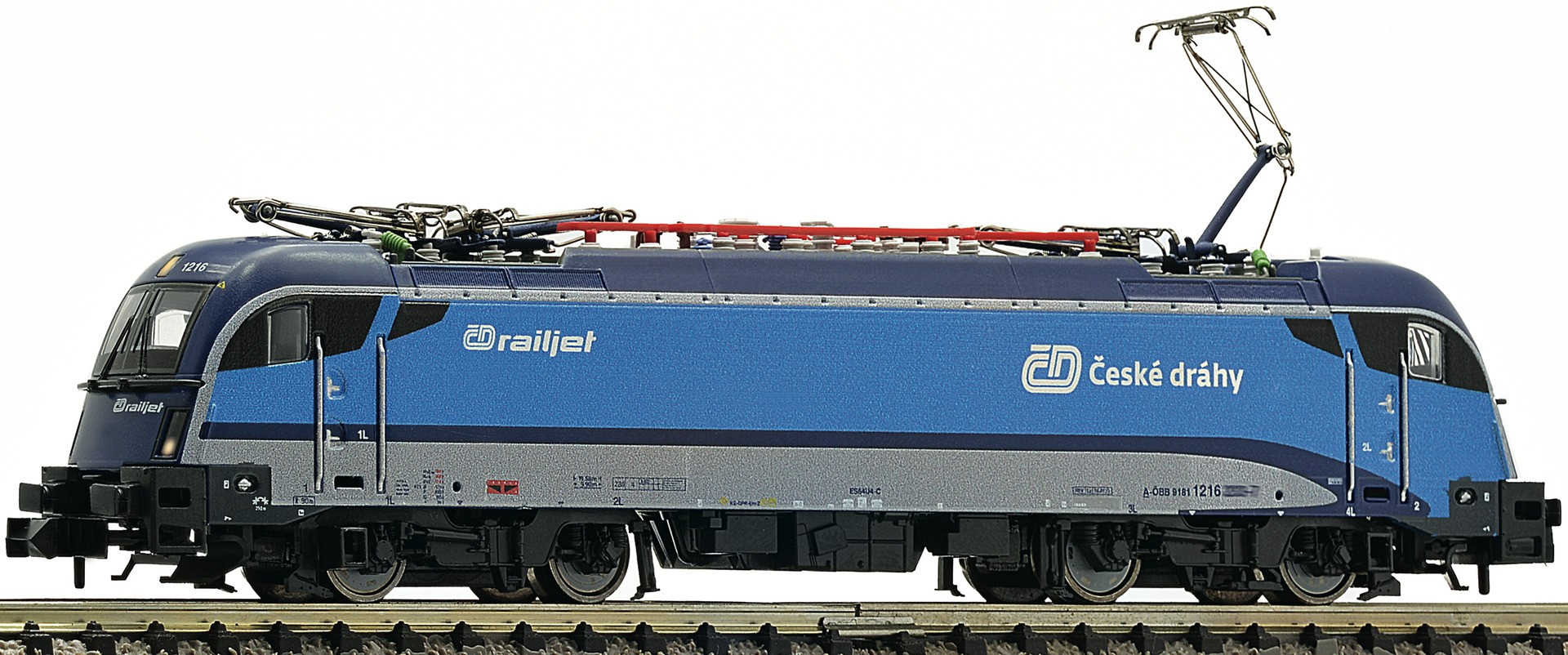 Fleischmann 781803 - Electric locomotive Rh 1216 ''Railjet'', ÛëD