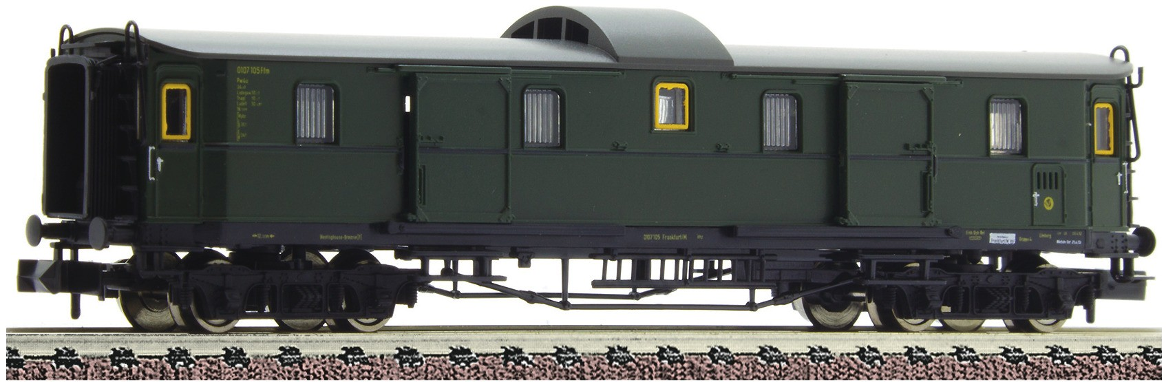 Fleischmann 878102 - 3rd class express coach type C 4í_ with tail end indicators, DB