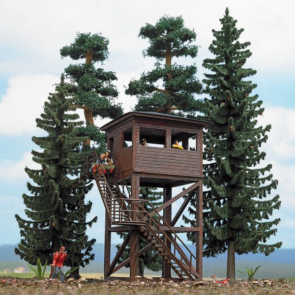 Forest Set With Lookout Tower