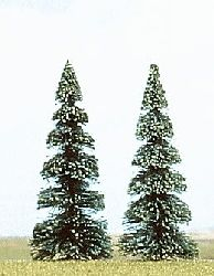 Ho 2 X 90mm Fir Trees