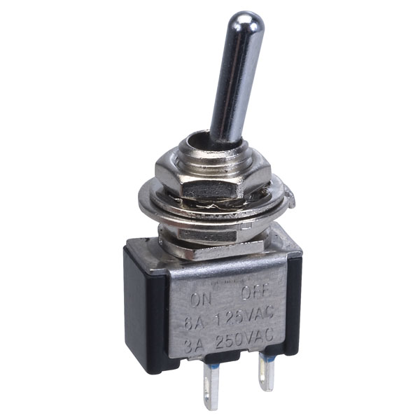 Miniature Toggle Switch SPST On-Off