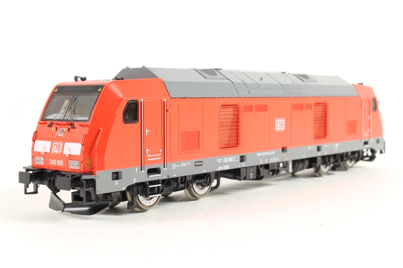 Piko 52512 DB BR245 Diesel Locomotive IV (DCC-Sound)