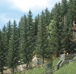 Realistic Fir Trees 2 X 70mm