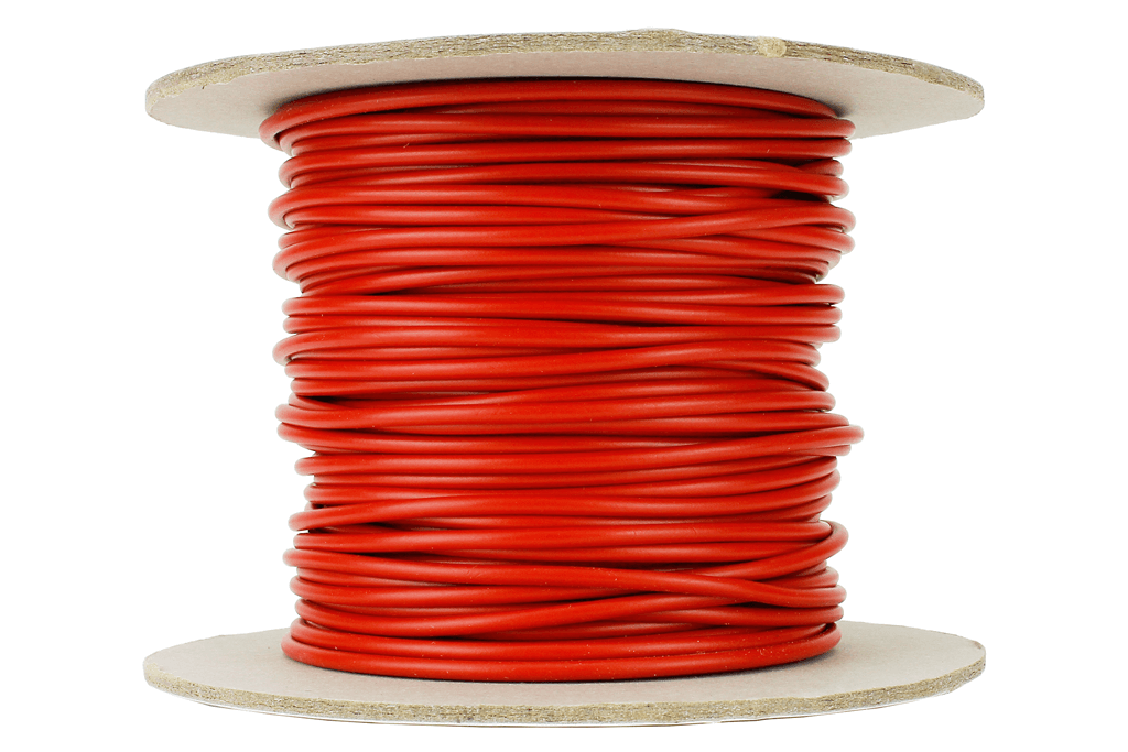 24/0.2mm Red Bus wire/ Equipment Wire-100m Reels