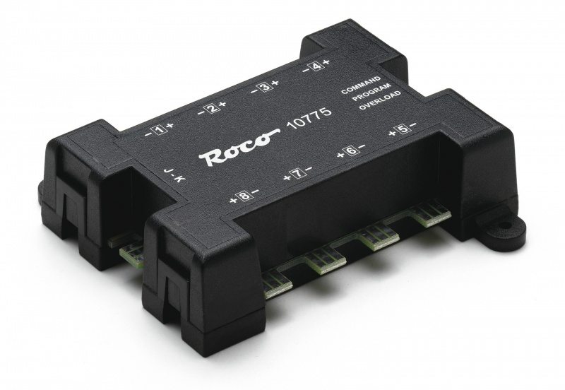 Roco 10775 - 8-fold turnout decoder DCC