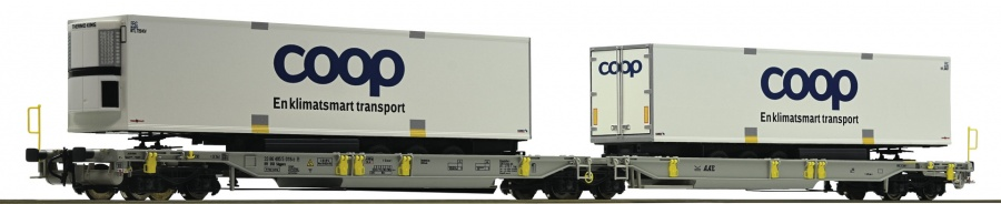 Roco 67385 AAE Coop Double Container Wagon V