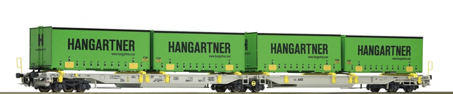 Roco 67397 AAE/DB Cargo Hangartner Double Container Wagon V