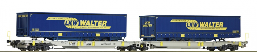 Roco 67398 AAE LKW Walter Double Pocket Wagon VI
