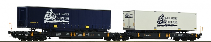 Roco 67411 NSB Kjell Hansen Double Pocket Wagon VI