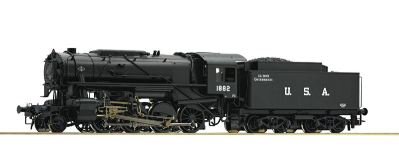 Roco 72152 USTC S160 US Zone Austria Steam Locomotive III